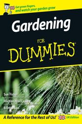 Gardening For Dummies by Sue Fisher