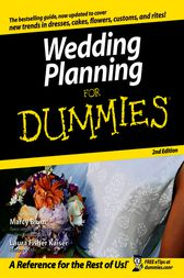 Wedding Planning For Dummies by Marcy Blum