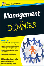 Management For Dummies by Richard Pettinger