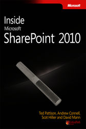 Inside Microsoft® SharePoint® 2010 by Ted Pattison
