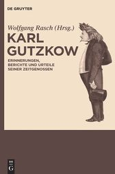 Karl Gutzkow by Wolfgang Rasch