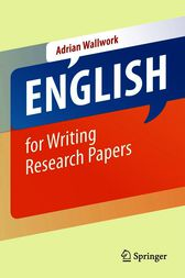 English for Writing Research Papers by Adrian Wallwork