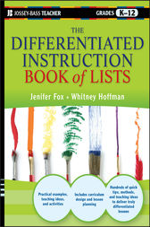 The Differentiated Instruction Book of Lists by Jenifer Fox