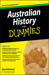 Australian History for Dummies by Alex McDermott