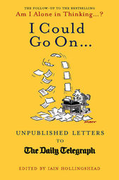 I Could Go On by Iain Hollingshead