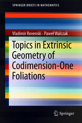 Topics in Extrinsic Geometry of Codimension-One Foliations by Vladimir Rovenski