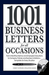 1001 Business Letters for All Occasions by Corey Sandler