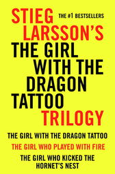 Girl with the Dragon Tattoo Trilogy Bundle by Stieg Larsson