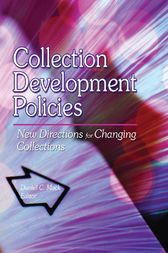 Collection Development Policies by Linda S Katz