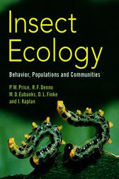 Insect Ecology by Peter W. Price