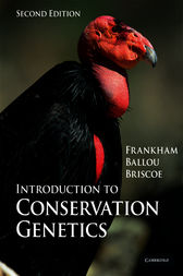 Introduction to Conservation Genetics by Richard Frankham