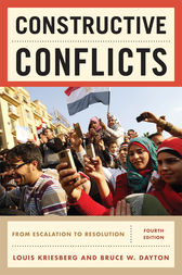Constructive Conflicts by Louis Kriesberg