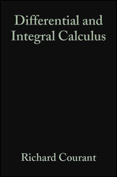 Differential and Integral Calculus, Volume 1 by Richard Courant