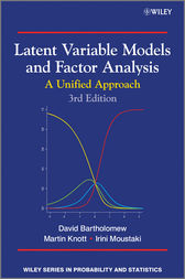 Latent Variable Models and Factor Analysis by David J. Bartholomew