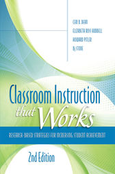 Classroom Instruction That Works by Ceri B Dean