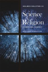 Science and Religion by Holmes Rolston