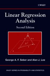 Linear Regression Analysis by George A. F. Seber