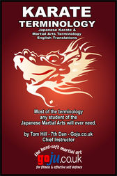Karate Terminology by Tom Hill