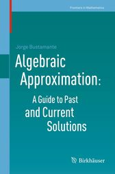 Algebraic Approximation: A Guide to Past and Current Solutions by Jorge Bustamante