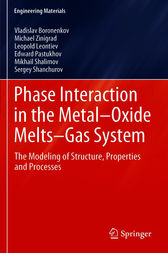 Phase Interaction in the Metal - Oxide Melts - Gas -System by Vladislav Boronenkov