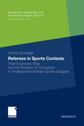 Referees in Sports Contests by Cedric Duvinage