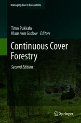Continuous Cover Forestry by Timo Pukkala