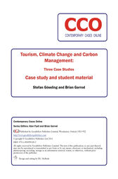 Tourism, Climate Change and Carbon Management: Three Case Studies by Stefan Gossling