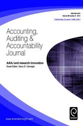 managerial auditing journal 7 Internal audit, alternative internal audit structures and the level of managerial auditing journal, 2015, 30, 6/7 managerial auditing journal, 2011, 26, 7.