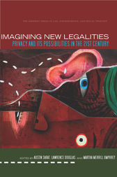 Imagining New Legalities by Austin Sarat