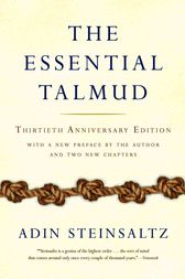 The Essential Talmud by Adin Steinsaltz