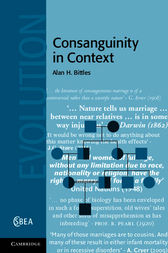 Consanguinity in Context by Alan H. Bittles