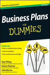 Business Plans For Dummies by Paul Tiffany