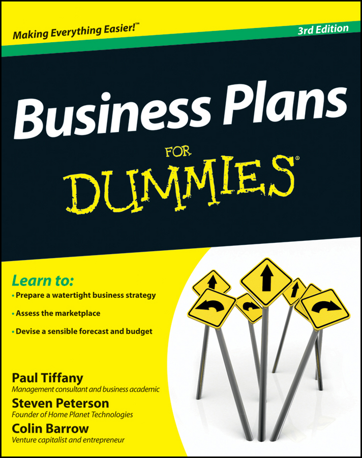 Download Ebook Business Plans For Dummies. (3rd ed.) by Paul Tiffany Pdf