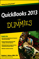 QuickBooks 2013 For Dummies by Stephen L. Nelson