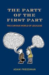 The Party of the First Part by Adam Freedman