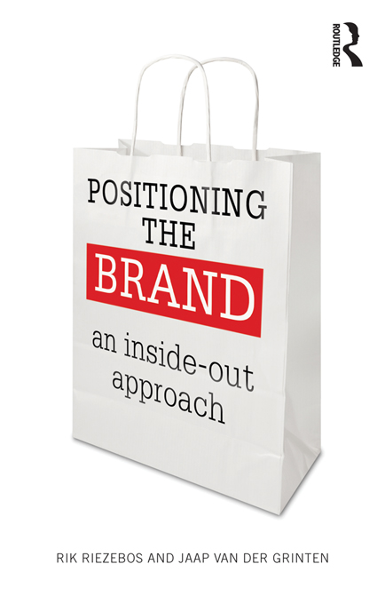Download Ebook Positioning the Brand by Rik Riezebos Pdf