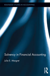 Solvency in Financial Accounting by Julie E. Margret