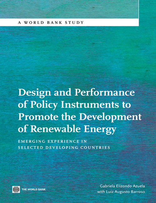 Download Ebook Design and Performance of Policy Instruments to Promote the Development of Renewable Energy by Gabriela Elizondo Azuela Pdf