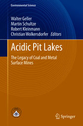 Acidic Pit Lakes by Walter Geller