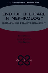 End of Life Care in Nephrology by Edwina Brown