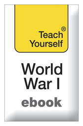 The First World War: Teach Yourself by David Evans