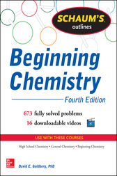 Schaum's Outline of Beginning Chemistry by David E Goldberg