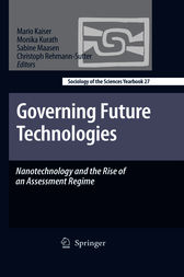 Governing Future Technologies by Mario Kaiser