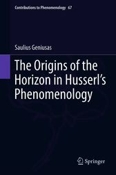 The Origins of the Horizon in Husserl's Phenomenology by Saulius Geniusas