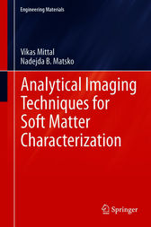 Analytical Imaging Techniques for Soft Matter Characterization by Vikas Mittal