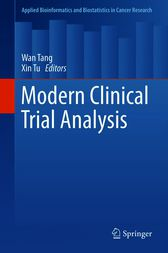 Modern Clinical Trial Analysis by Wan Tang