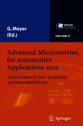 Advanced Microsystems for Automotive Applications 2012 by Gereon Meyer
