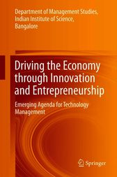Driving the Economy through Innovation and Entrepreneurship by Department of Management Studies