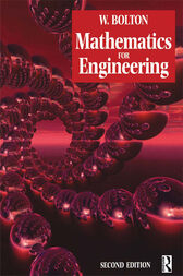 Mathematics for Engineering by W Bolton