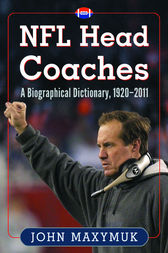 NFL Head Coaches by John Maxymuk